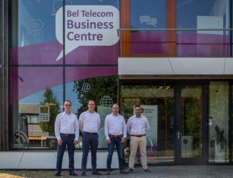 v.l.n.r.: Klaas van Wendel, Erik van Wendel, Bart Bel, Sander Drenth