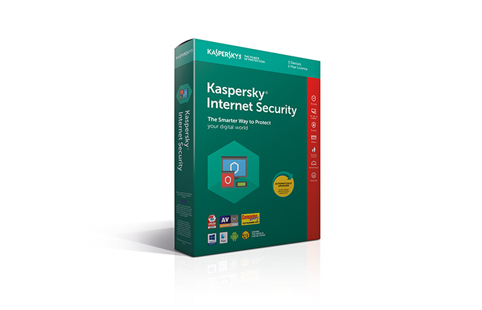 Kapersky internet security banner
