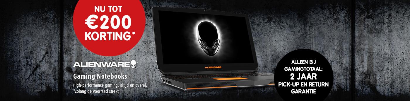 Alienware actie notebook